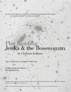 Jenka and the Bosswoman by Christine Kallman